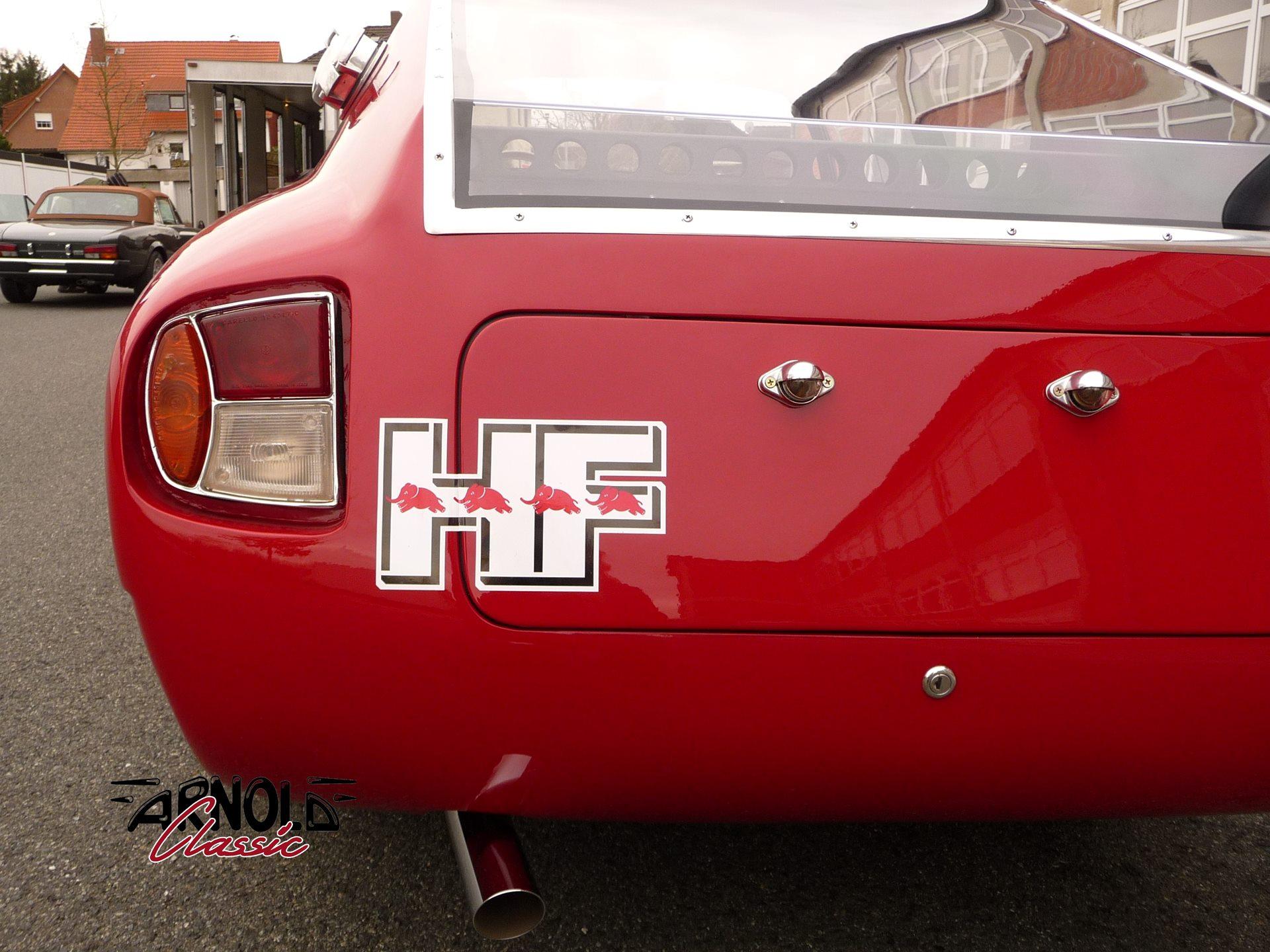 Lancia Flavia (Zagato) rot HF-Sport 1.8 (1966) Oldtimer | Arnold Classic