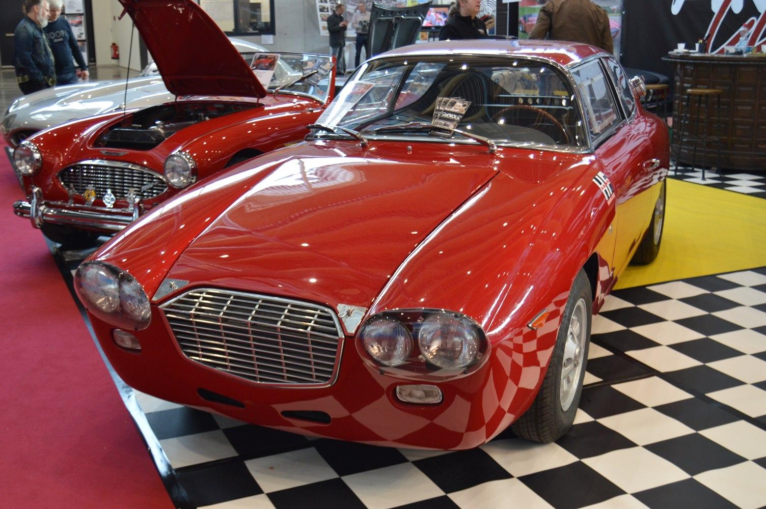 Lancia Zagato - Retro Classics Stuttgart 2018 Arnold Classic Oldtimer