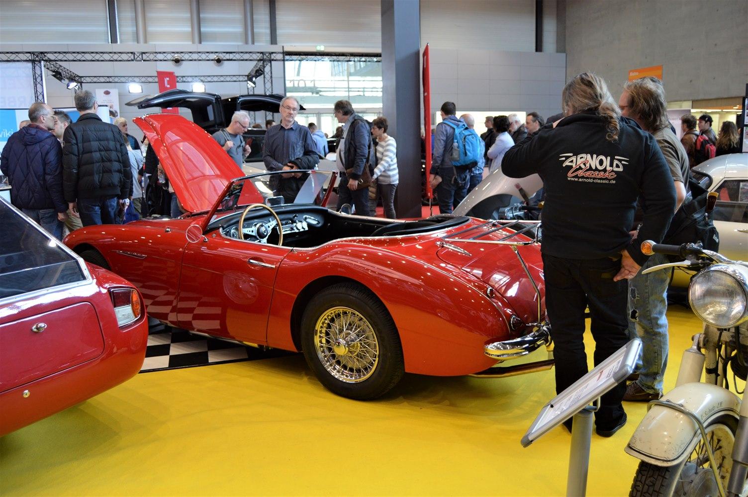 Austin-Healey 3000 - Retro Classics Stuttgart 2018 Arnold Classic Oldtimer