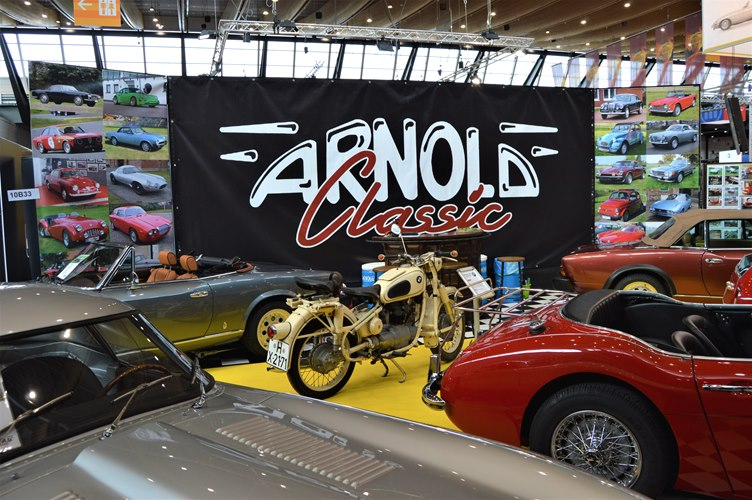 Retro Classics Stuttgart 2018 Arnold Classic Oldtimer