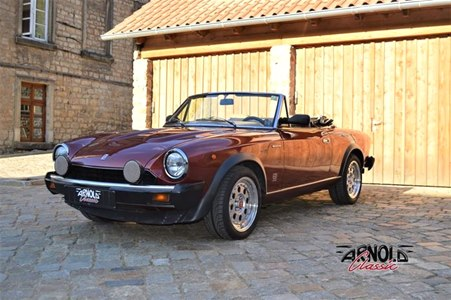 Fiat 124 Spider Volumex- Arnold Classic Oldtimer Lauenau
