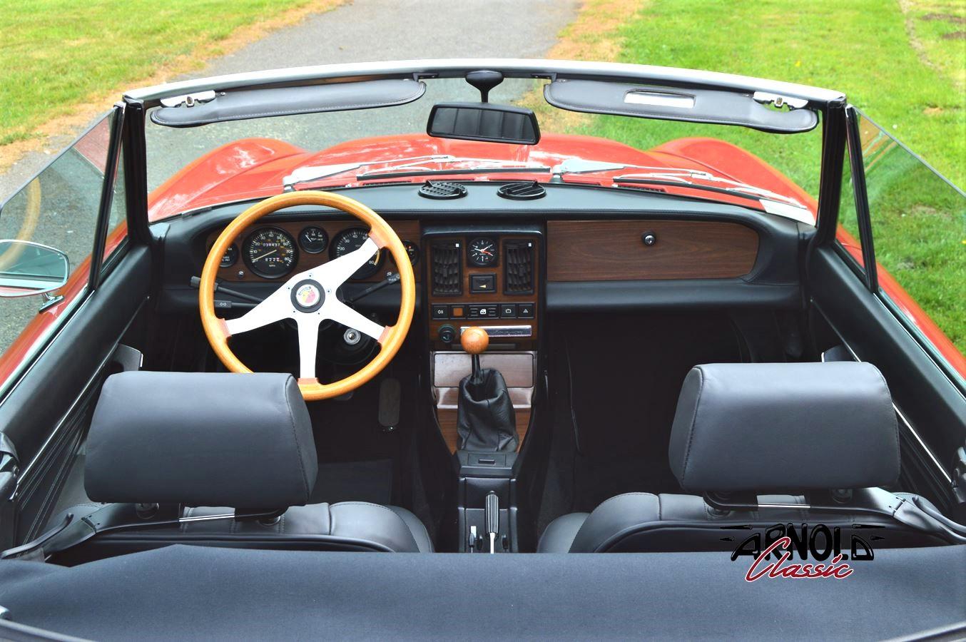 FIAT 124 Spider DS 1984 Oldtimer Pininfarina zum Kaufen - Arnold Classic