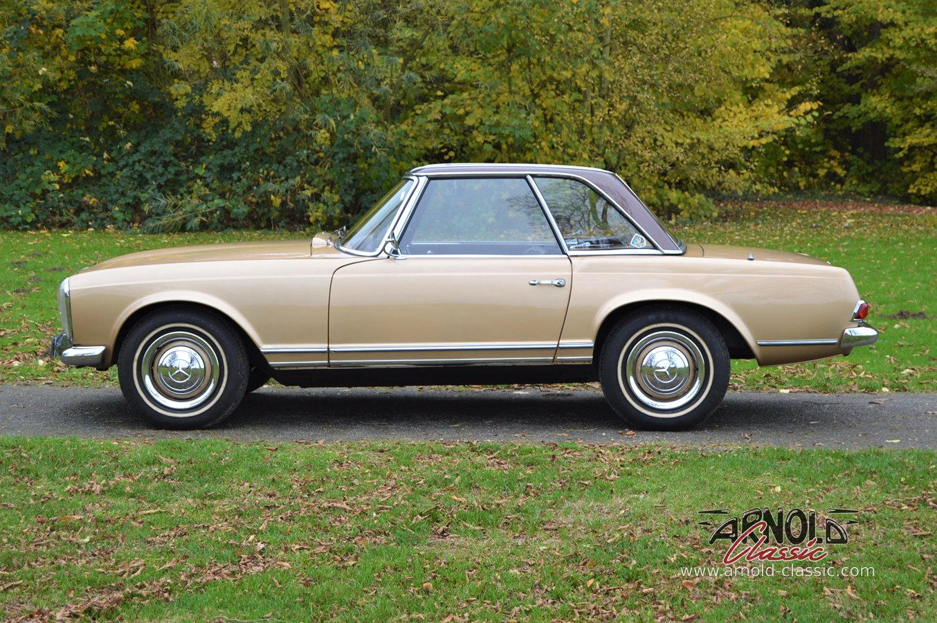 mercedes 230 sl w113 pagode in gold kaufen arnold classic. Black Bedroom Furniture Sets. Home Design Ideas